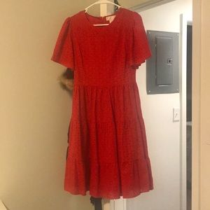 Rachel Parcel red summer dress